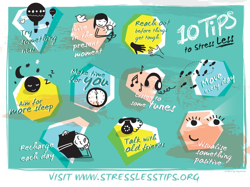 Stress Less Tips 2015