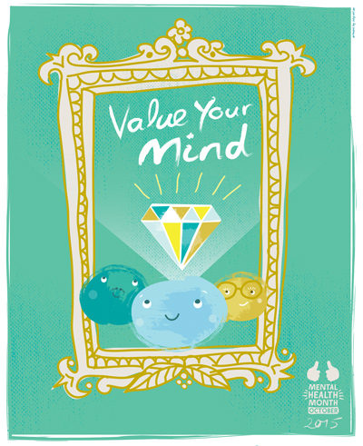Mental Health Month 2015 poster