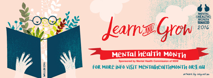 Learn and Grow – 2016's Mental Health Month theme