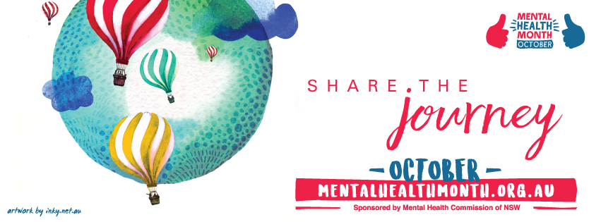 Share the Journey – 2017 Mental Health Month Theme