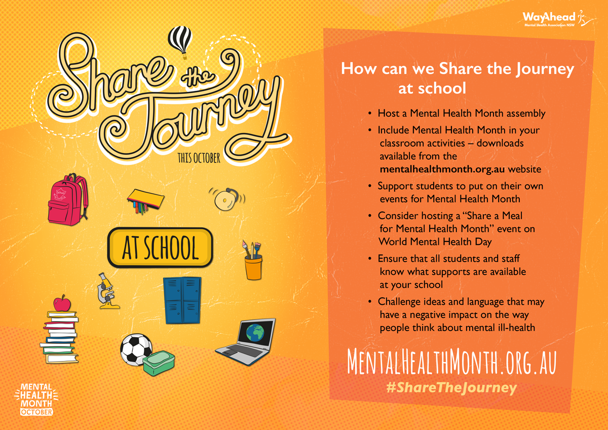 Share the Journey at school