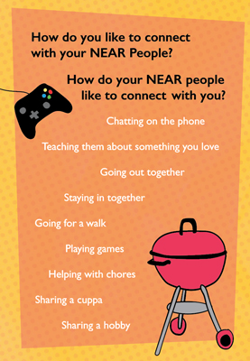 How do you connect with your Near people? Mental Health Month Campaign