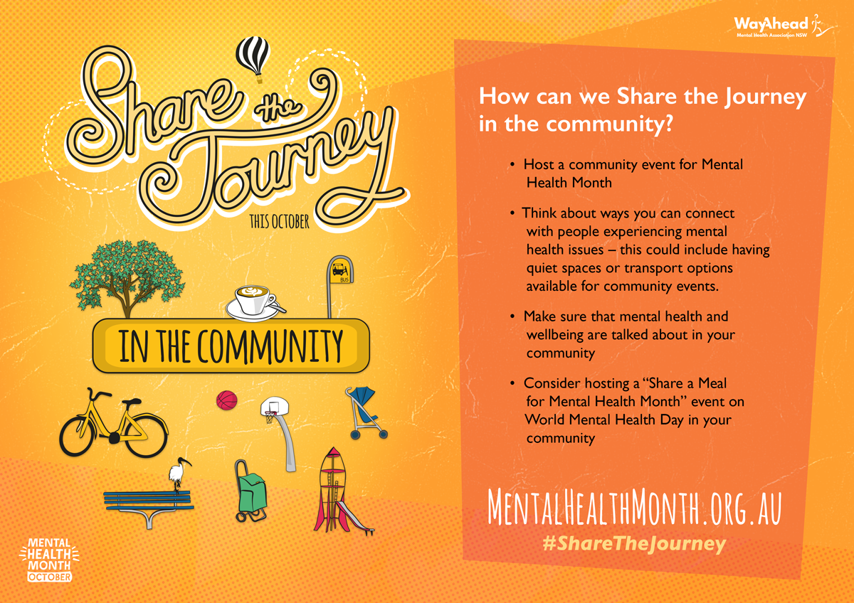 Share the journey in the community