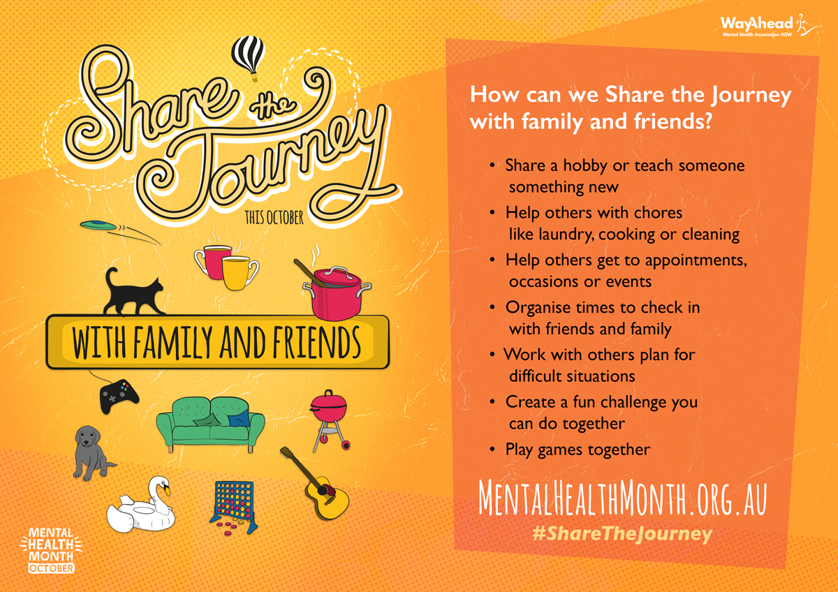 Share the Journey with family and friends
