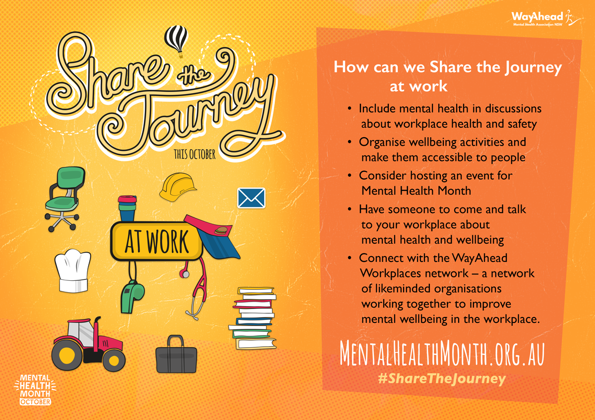 Share the journey at work